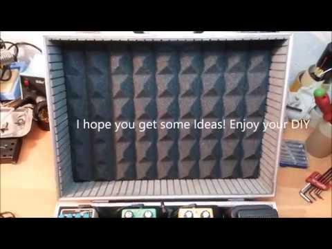 Pedalboard Case DIY cheap nice and easy idea!