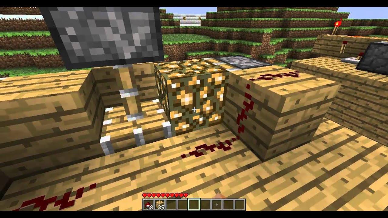 C mo hacer luz el ctrica minecraft tutorial youtube for Como se creo el suelo