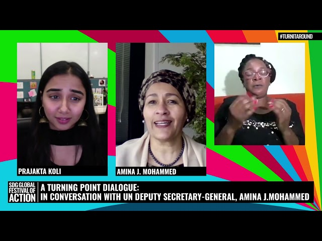A Turning Point Dialogue: In Conversation with UN Deputy Secretary-General, Amina J. Mohammed