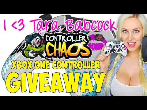 GIVEAWAY: I HEART TARA BABCOCK XBox One Controller by Controller Chaos