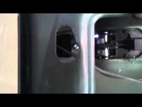 2005 Toyota Sienna Sliding Door Handle Replacement Sienna