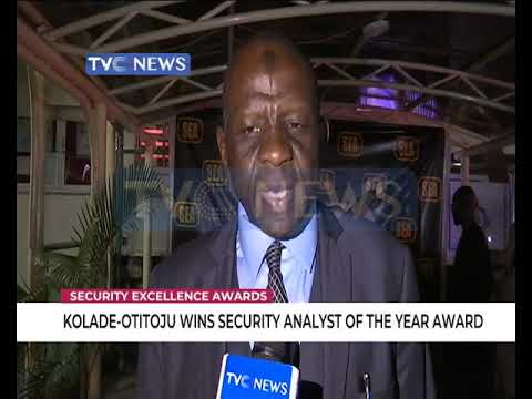 Babajide Kolade-Otitoju wins Security Analyst of the Year Award