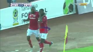 Meddie Kagere akiipigia Simba bao la pili; Simba vs Mbeya City (TPL 27/08/2018)