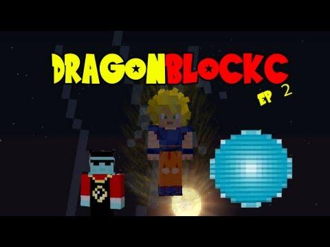 Dragon Block C - Snake Way, Meeting King Kai, Spirit Bomb & Kaioken (DBZ Minecraft Ep 2)