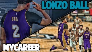 BIGGEST GAME OF THE SEASON - NBA 2K17 LONZO BALL MyCareer