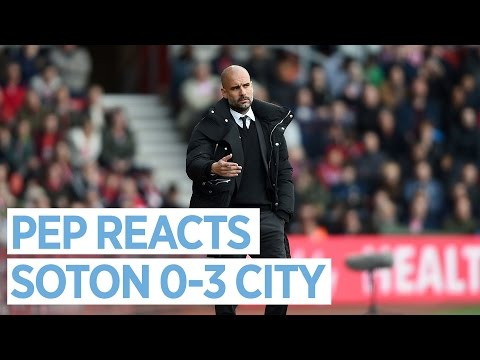 VINCENT KOMPANY IS TOP QUALITY! | Pep Guardiola Reacts to Southampton 0-3 Man City