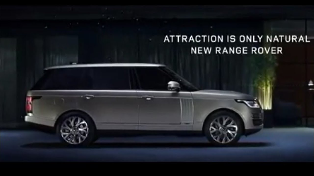 2018 Range Rover Commercial Attraction Is Only Natural Youtube