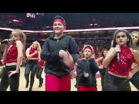Rising Starz Miami Heat vs Orlando Magic Halftime Performance