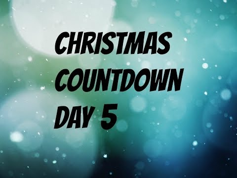 5 days till Christmas!!!