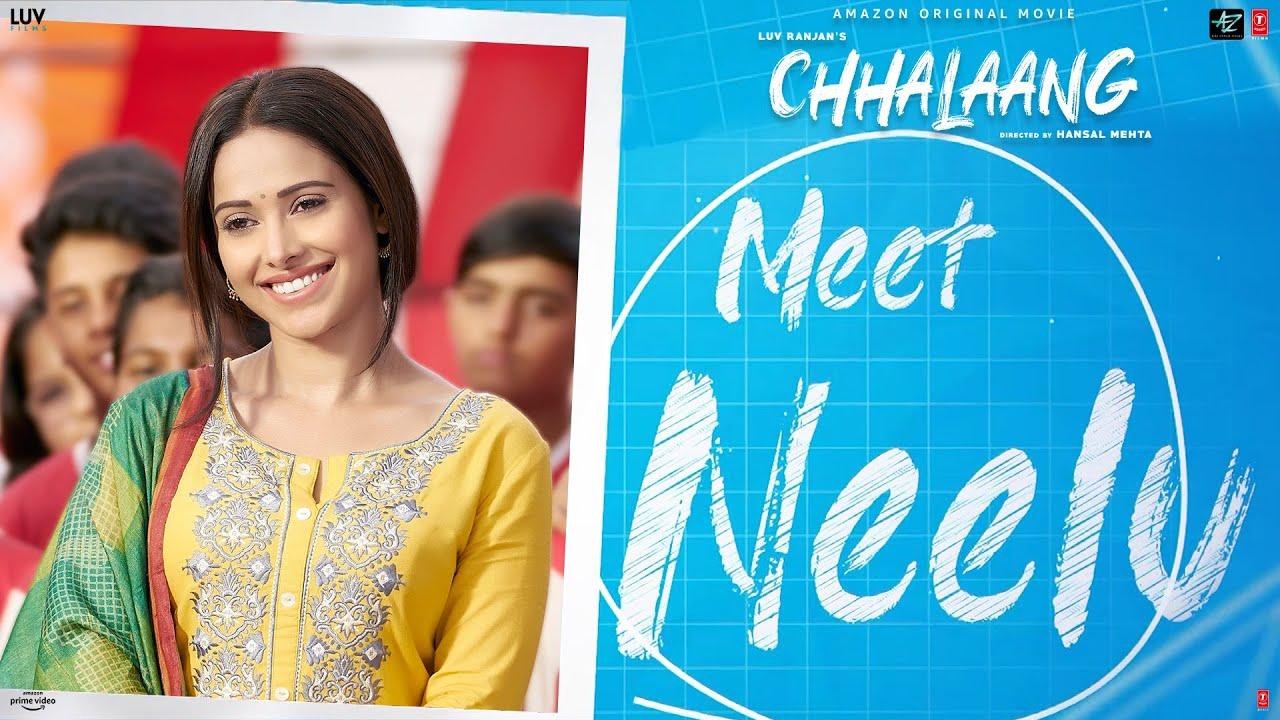 Chhalaang Making - Meet Neelu | Rajkummar R, Nushrratt B | Streaming Now on Amazon Prime Video