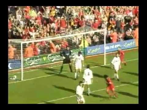 Michael Owen 1st 100 Goals for Liverpool.