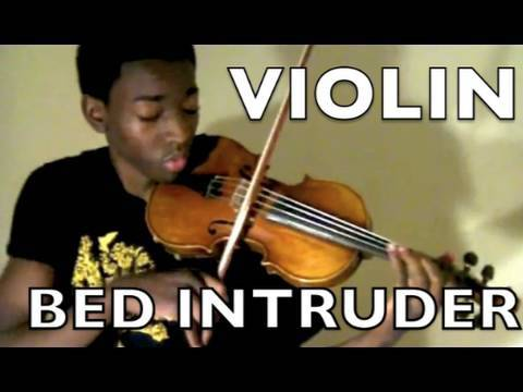 eric stanley bed intruder song violin cover youtube