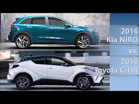 2016 Kia Niro vs 2016 Toyota C-HR comparison