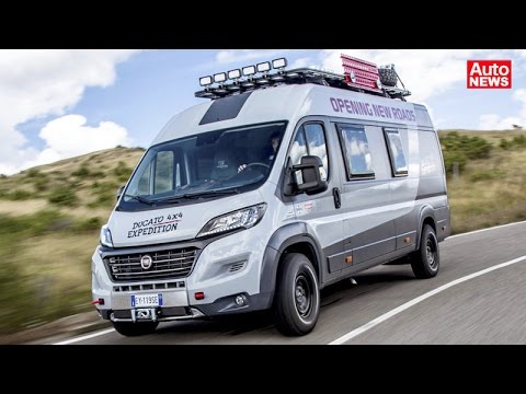 fiat ducato 4x4 expedition kastenwagen f r abenteuerlustige youtube. Black Bedroom Furniture Sets. Home Design Ideas