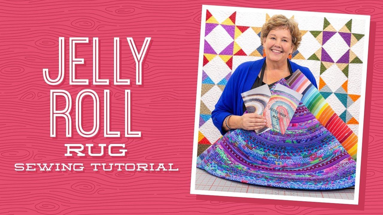 Make A Jelly Roll Rug With Jenny Doan