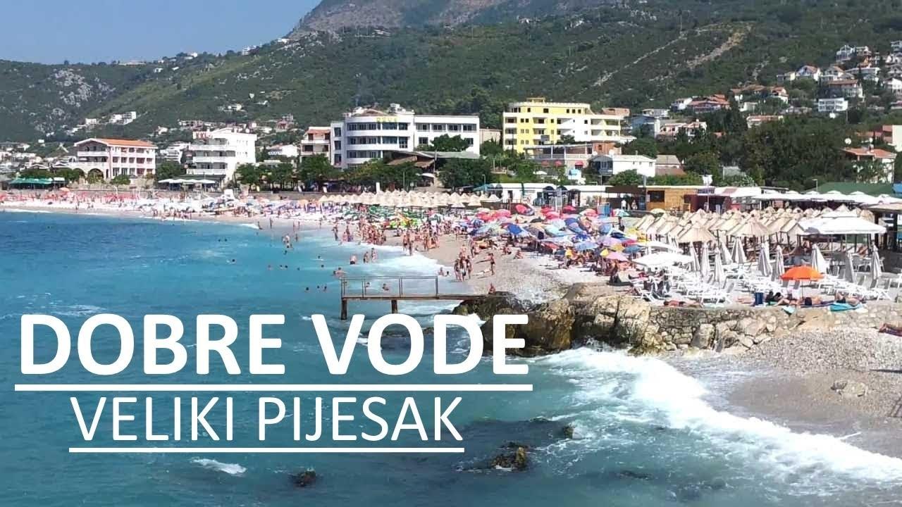 dobre vode crna gora mapa DOBRE VODE Crna Gora Plaza Veliki Pijesak, BAR   Crna Gora  dobre vode crna gora mapa