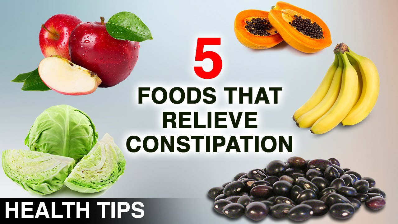top 5 foods that relieve constipation | constipation relief | what