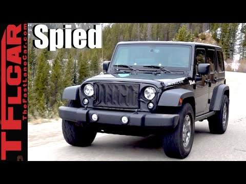 2018 jeep electric top. contemporary top 2018 jeep wrangler prototype spied top 10 predictions u0026 rumors to jeep electric top