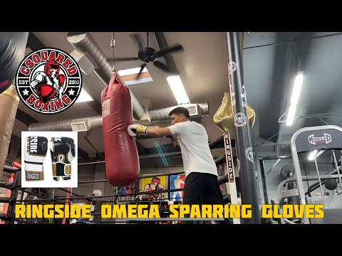 HEAVY BAG TRAINING- Ringside Omega Sparring Gloves