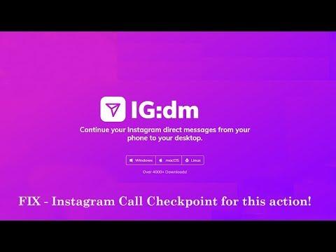 INSTAGRAM DIRECT for PC - IG:dm FIX(Instagram Call