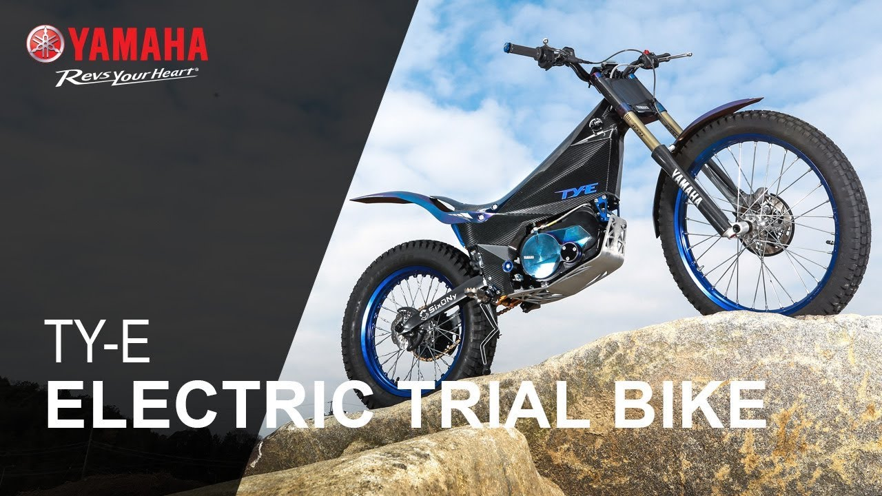 yamaha ty e trial bike concept motorcycle youtube. Black Bedroom Furniture Sets. Home Design Ideas