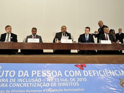 Primeiro ano de vigência do Estatuto da Pessoa com Deficiência é tema de seminário