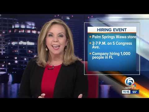 Wawa Stores Across Florida Holding Job Fairs Wednesday