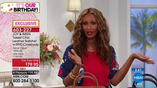 HSN | Joy & IMAN: Fashionably Functional Celebration 06.30.2018 - 10 PM