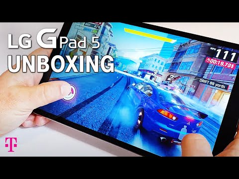 LG G Pad 5 Unboxing | T-Mobile