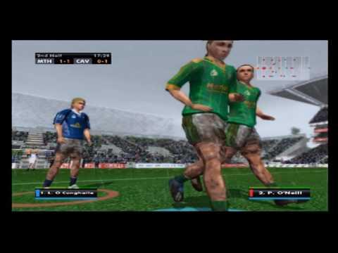 Gaelic Games Football 2 PS2 Gameplay