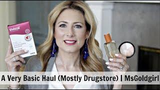 A Basic Makeup Haul (Mostly Drugstore) | MsGoldgirl
