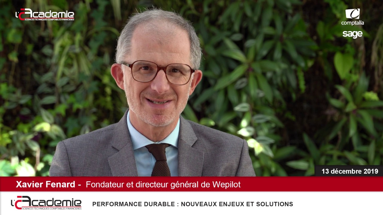 Les Entretiens de l'Académie : Xavier Fenard
