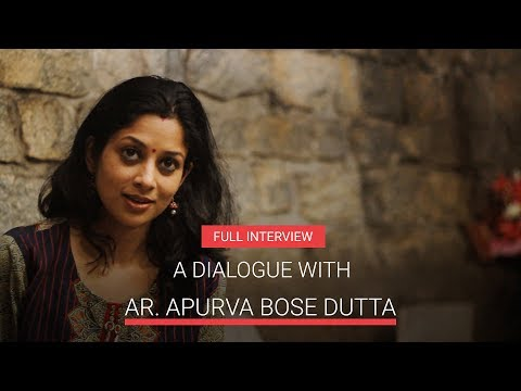 Building Community Network | A Dialogue With Ar. Apurva Bose Dutta - Full Interview