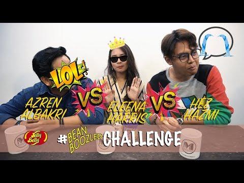 Azren Albakri, Eleena Harris & Hez Hazmi  - Bean Boozled Challenge