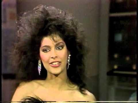 Denise Matthews Vanity on Late Night, March 25, 1985