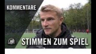 Die Stimmen zum Spiel | FC Viktoria Köln U19 - FC Pesch U19 (Finale, FVM-Qualifikation)