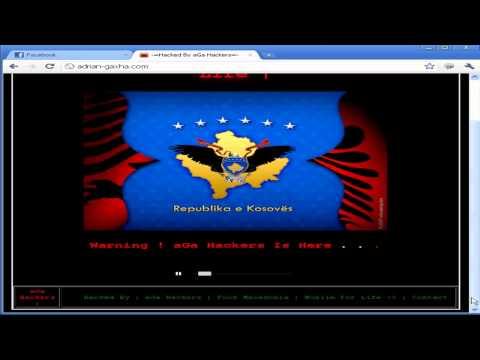 Adrian Gaxha Offical Website Hacked By : aGa Hackers
