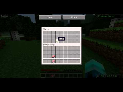 Minecraft 1.2.5 Multiplayer: How to Dupe Items with Nodus Hack Client