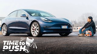 TESLA MODEL 3 PERFORMANCE ON TRACK - TIME TO PUSH