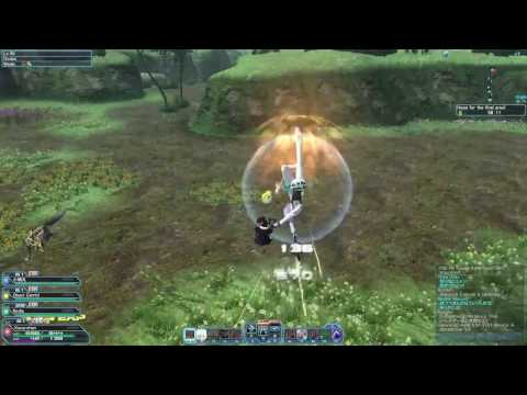 PSO2 GUNNER / BOUNCER VERY HARD GAMEPLAY ( ADVANCE QUEST )
