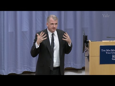 "Timothy Snyder - ""What Can European History Teach Us About Trump's America?"""