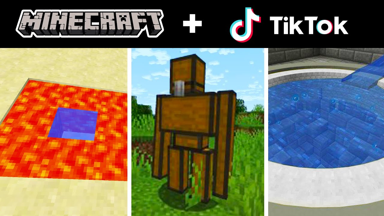 Minecraft Tik Tok Compilation 44
