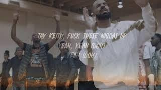 BlocBoy JB, Drake - Look Alive  (Lyrics)