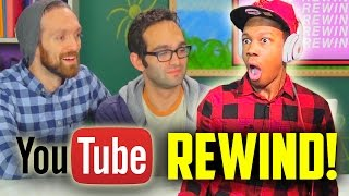 YouTube Rewind: Now Watch Me 2015 REACTION!