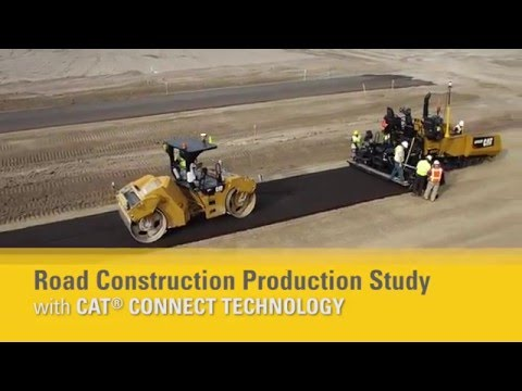 Cat® Connect Technology | Road Construction Production Study