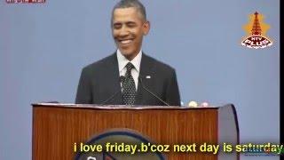 Barack Obama's Visit to Nepal - US President Obama in Nepal