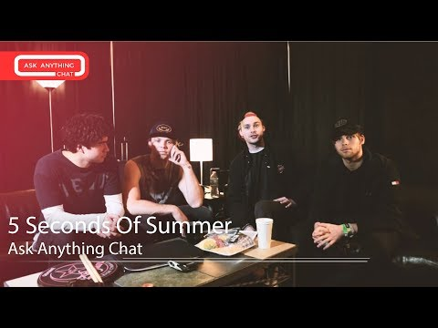 5 Seconds Of Summer MRL Ask Anything Chat w/ Romeo (Full Version)