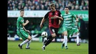 Freiburg vs Werder Bremen - 2017-18 Bundesliga Highlights