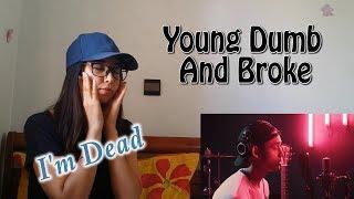 Baixar Michael Pangilinan - Young Dumb and Broke  (COVER ) _ REACTION