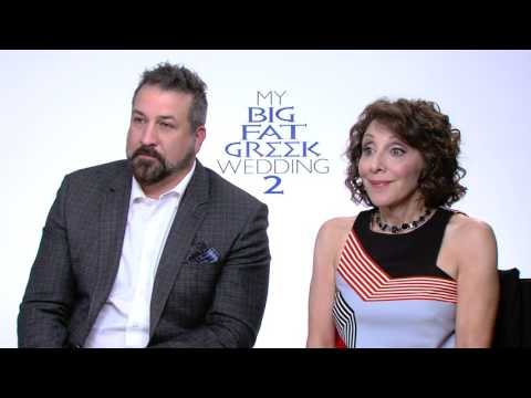 My Big Fat Greek Wedding 2: Joey Fatone & Andrea Martin Official Movie Interview